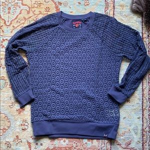 Superdry crochet sweater